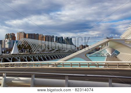 City of Arts and Sciences in Valencia.