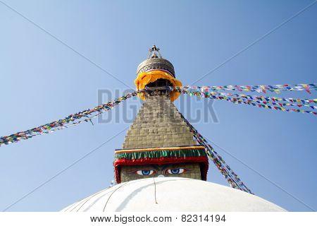 Ancient Buddhist Religious Temple Swayambhunath