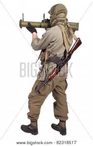 Mercenary With Anti-tank Rocket Launcher - Rpg 26