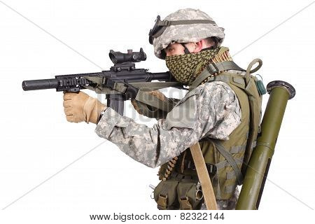 Us Special Forces Soldier