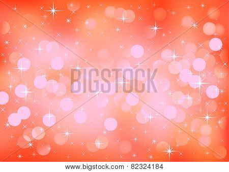 Vector background defocused festive lights, no size limit