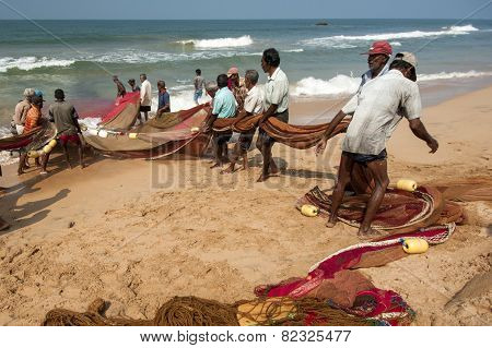 Fishermen From Sri Lanka