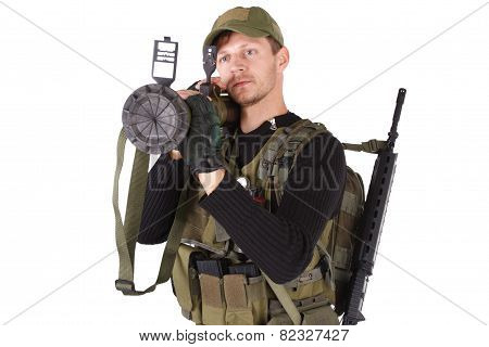 Mercenary With Rpg