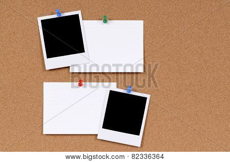 Blank Photo Prints With Index Cards
