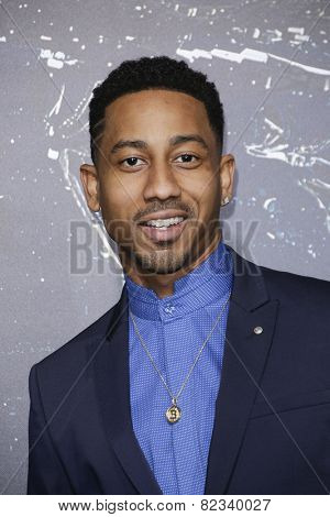 LOS ANGELES - FEB 2: Brandon T Jackson at the 'Jupiter Ascending' Los Angeles Premiere at TCL Chinese Theater on February 2, 2015 in Hollywood, Los Angeles, California