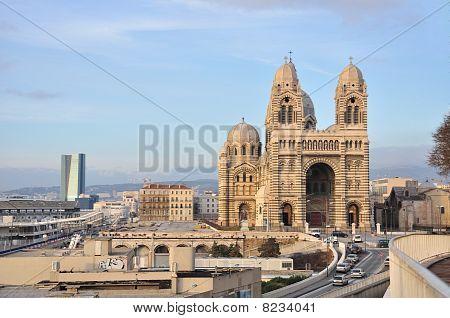 Cathedrale de la Major, Marseille, France