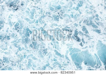 Sea water abstract background