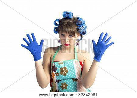 Pretty Housemaid