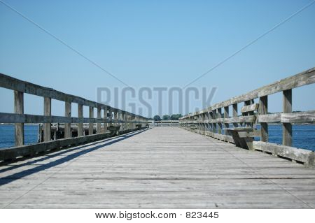 Pier at Fort Foster