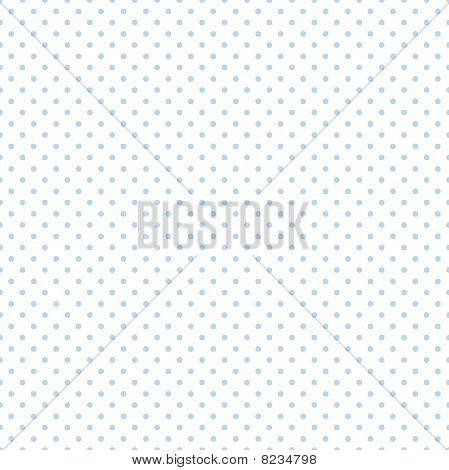 Seamless Pattern-Blue Polka Dots
