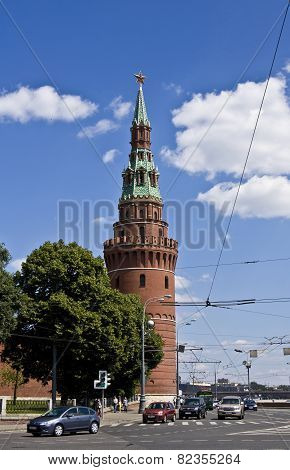 Moscow, Kremlin Tower