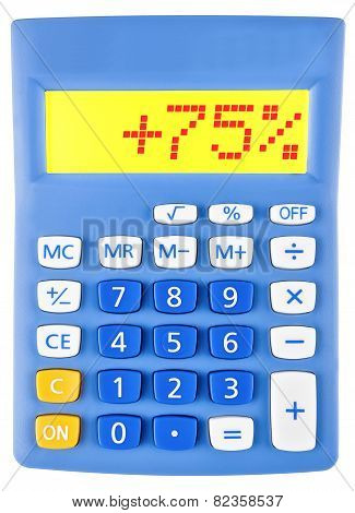 Calculator With 75