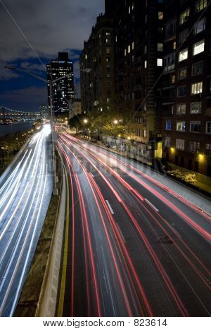 Highway in New York city