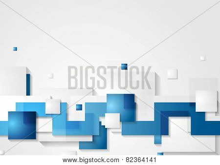 Abstract hi-tech geometric background. Vector design