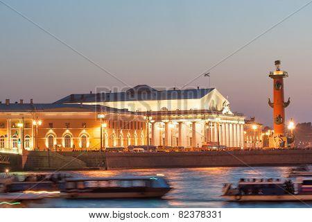 Vasilievsky Island spit