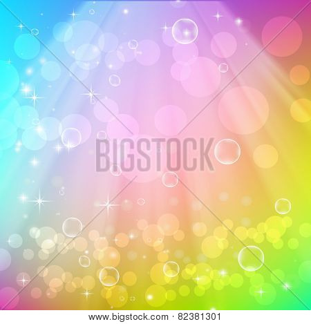 Abstract beautiful background. Vector illustration