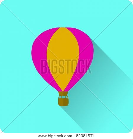 flat balloon icon