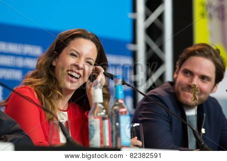 BERLIN- FEBRUARY, 05: Claudia Llosa. International Jury of Berlinale. Press Conference. Berlin, Hyatt Hotel, February, 05, 2015 in Berlin, Germany