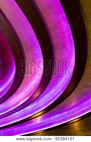 Abstract Vertical Background - Dark Purple Lines