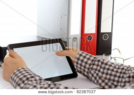 Working With Tablet Computer