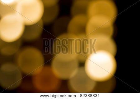 Abstract circular bokeh background