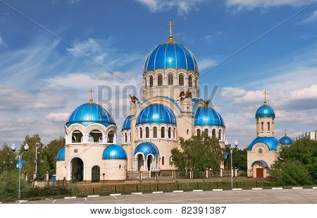 Moscow, Temple Trinity Life-Giving