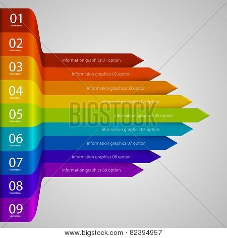 Arrows business growth rainbow