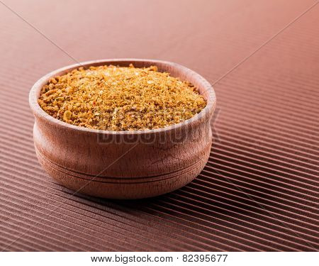 Savoy Salt In A Wooden Bowl
