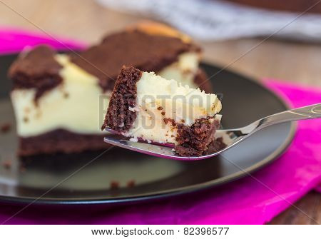 Russian Plucking Cake Serves On A Plate