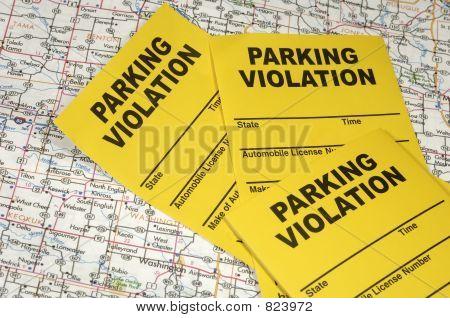 Infracción de estacionamiento