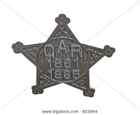 Grand Army of the Republic Grave Marker