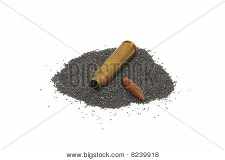 Disassembled bullet 2
