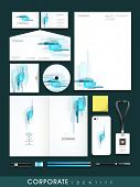 picture of letterhead  - Professional business corporate identity set includes CD Cover - JPG