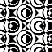 picture of zigzag  - Seamless Circle and ZigZag Pattern - JPG