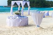 pic of cabana  - beautiful wedding arch - JPG