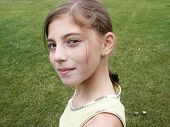 picture of pretty girl  - 12 year old girl - JPG