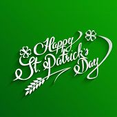 stock photo of saint patrick  - Happy St - JPG