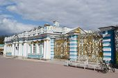 foto of tsarskoe  - Catherine Palace in Tsarskoe Selo suburb of St - JPG