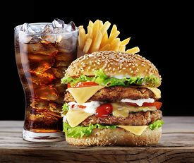 image of takeaway  - Hamburger - JPG