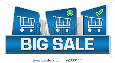 Big Sale Blue Rounded Squares