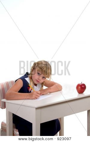 Student At Desk2