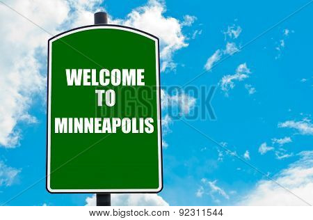 Welcome To Minneapolis