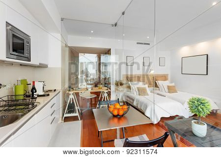 Modern Single Bedroom House