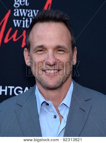 LOS ANGELES - MAY 28:  Tom Verica arrives to the