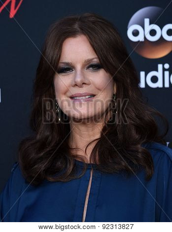 LOS ANGELES - MAY 28:  Marcia Gay Harden arrives to the