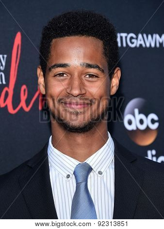 LOS ANGELES - MAY 28:  Alfred Enoch arrives to the