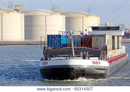 Barge Ship