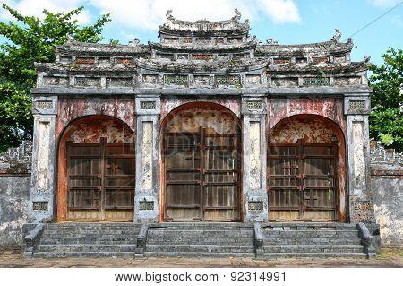 Entrance Gate Asia