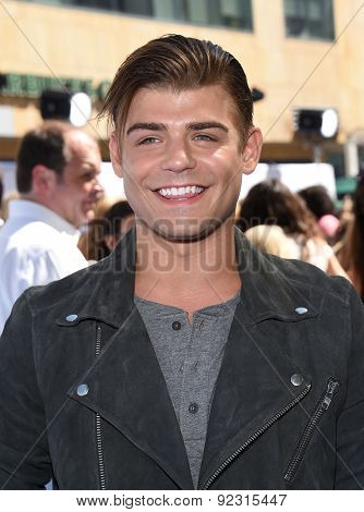 LOS ANGELES - APR 12:  Garret Clayton arrives to the MTV Movie Awards 2015  on April 12, 2015 in Hollywood, CA