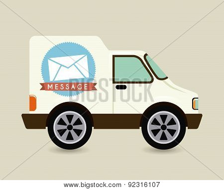courier car design